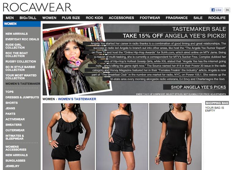 Rocawear: Take 15% Off Angela Yee's Picks!