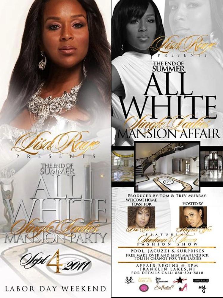 All White Single Ladies Mansion Affair