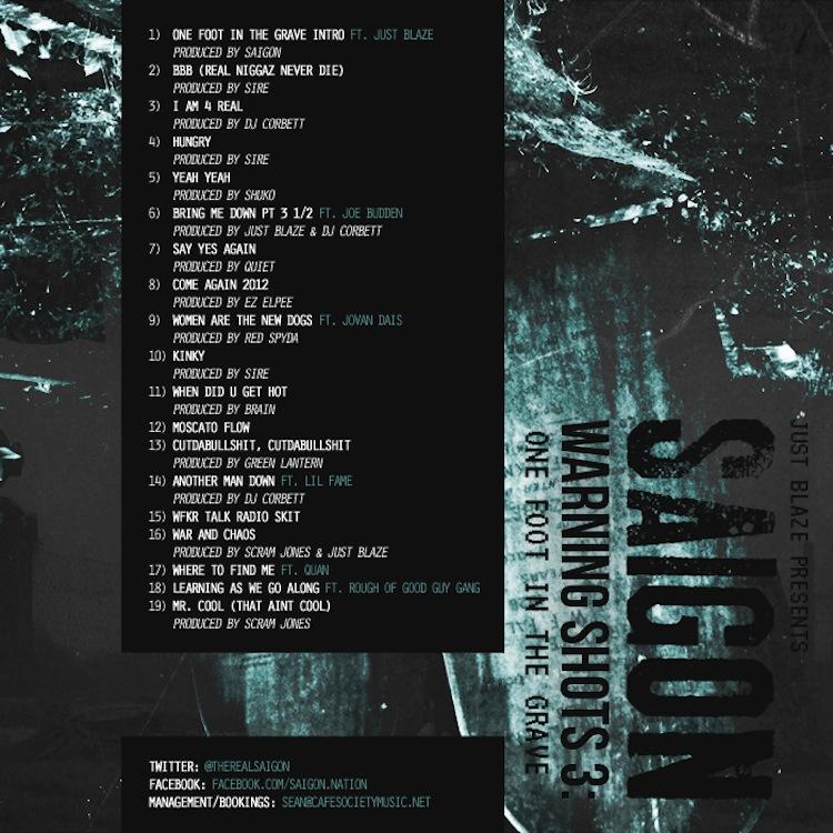 Mix Pick: Saigon &#8211; <em>Warning Shots 3</em>