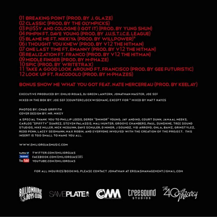 Mix Pick: Emilio Rojas &#8211; <em>Breaking Point</em>