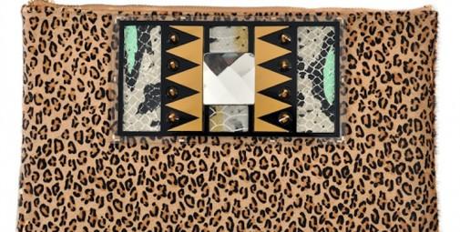 mistress rocks new leopard clutch