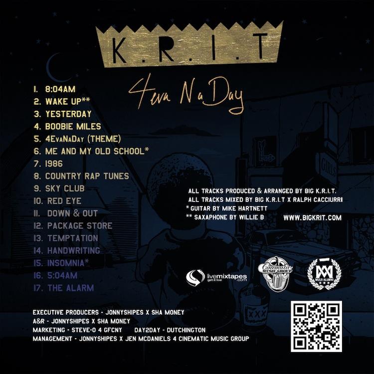 Mix Pick: Big K.R.I.T. &#8211; <em>4Eva N A Day</em>