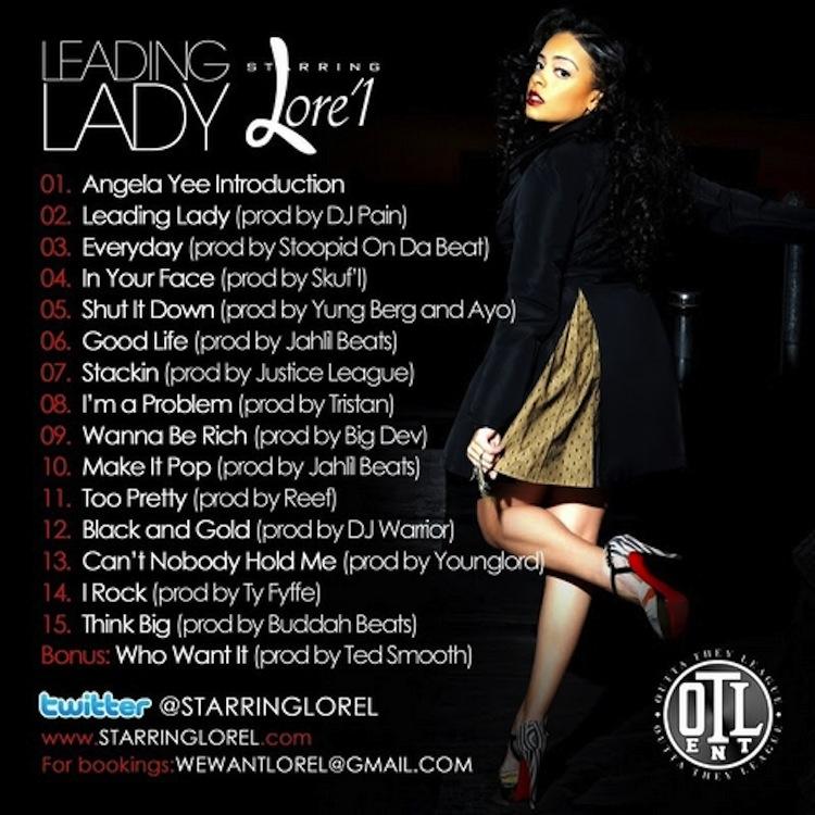 Mix Pick: Lore&#8217;l &#8211; <em>Leading Lady</em>
