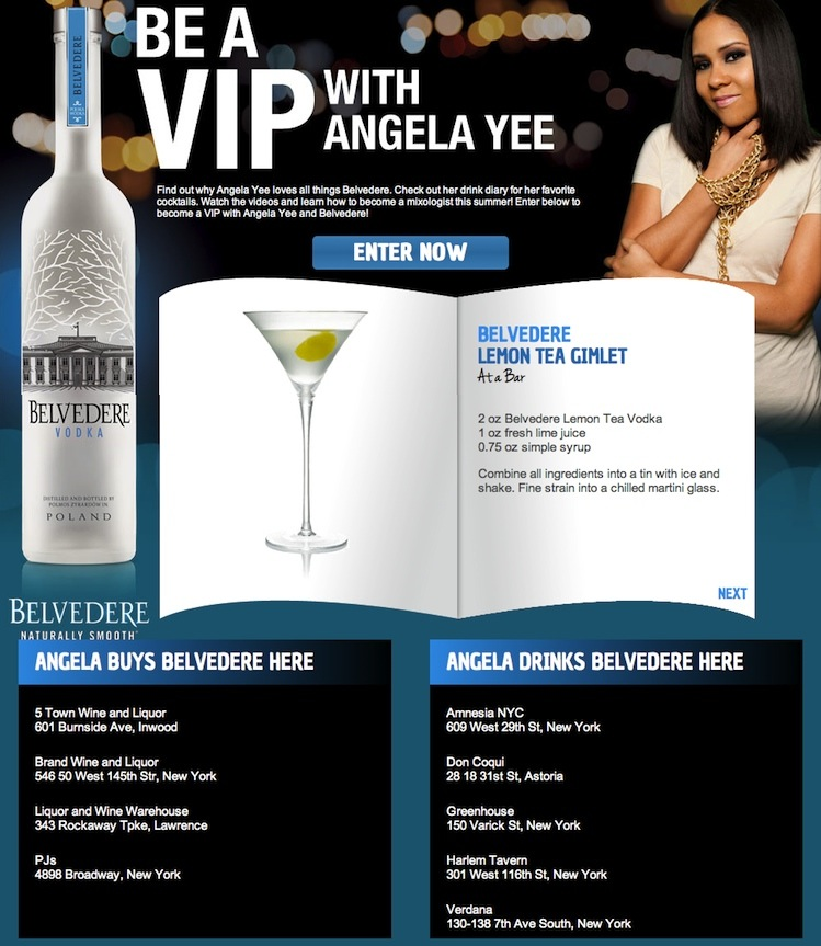 Be a VIP with Angela Yee