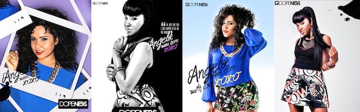 Angela Yee Covers Dopeness Magazine