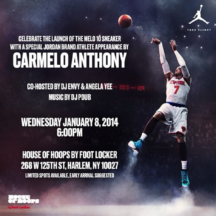 The Launch of the Melo 10 Sneaker