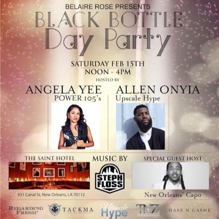Black Bottle Day Party