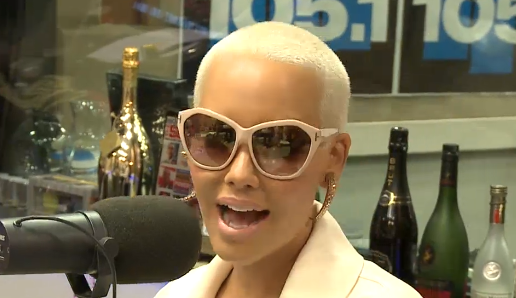 Amber Rose Discuss James Harden, Wiz Khalifa, Kim K, Tyga & Kylie