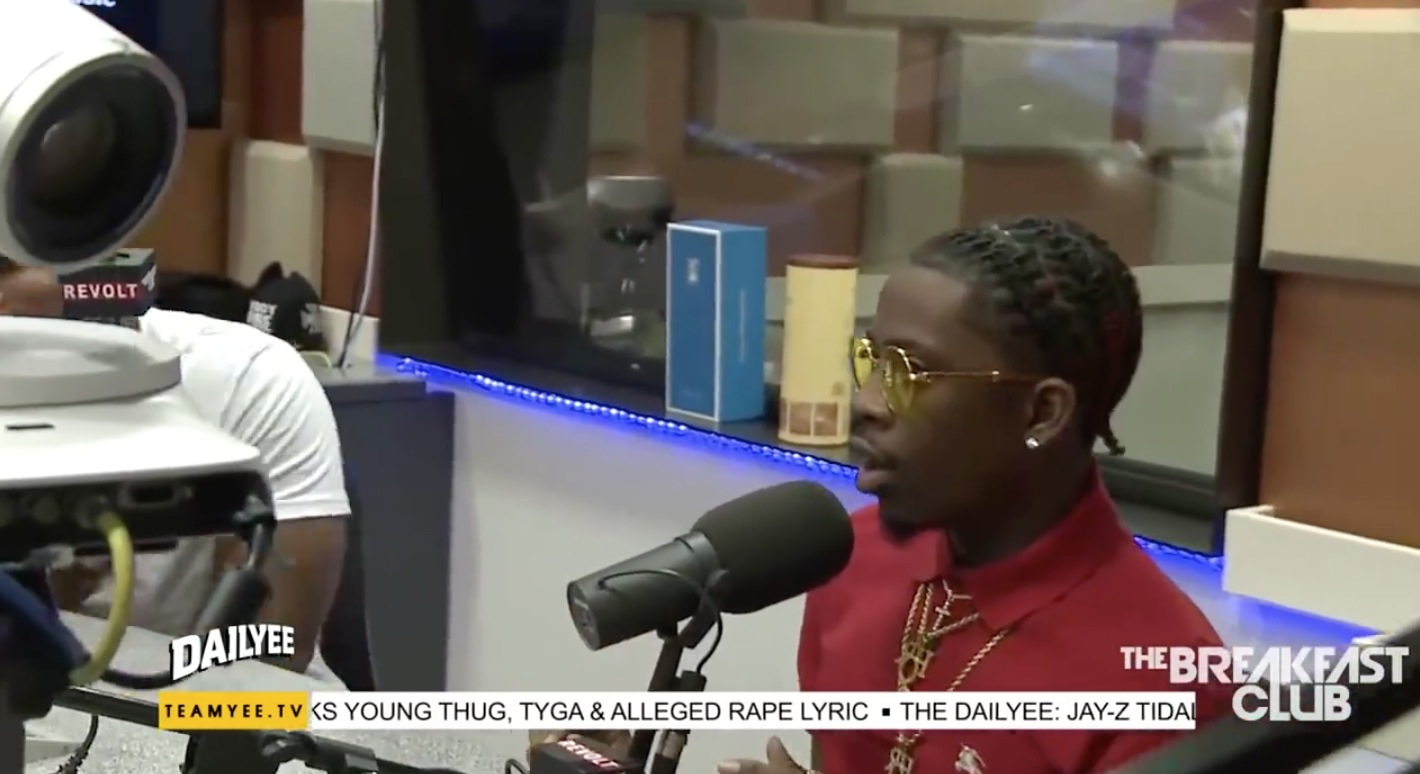 The Dailyee: Rich Homie Quan Gives His Thoughts On Young Thug Calling Him Bae and Hubby