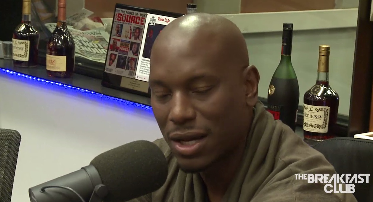 Tyrese Talks about his #1 album #BlackRose, why it's his last album, joint custody of his daughter, and wanting his lady back