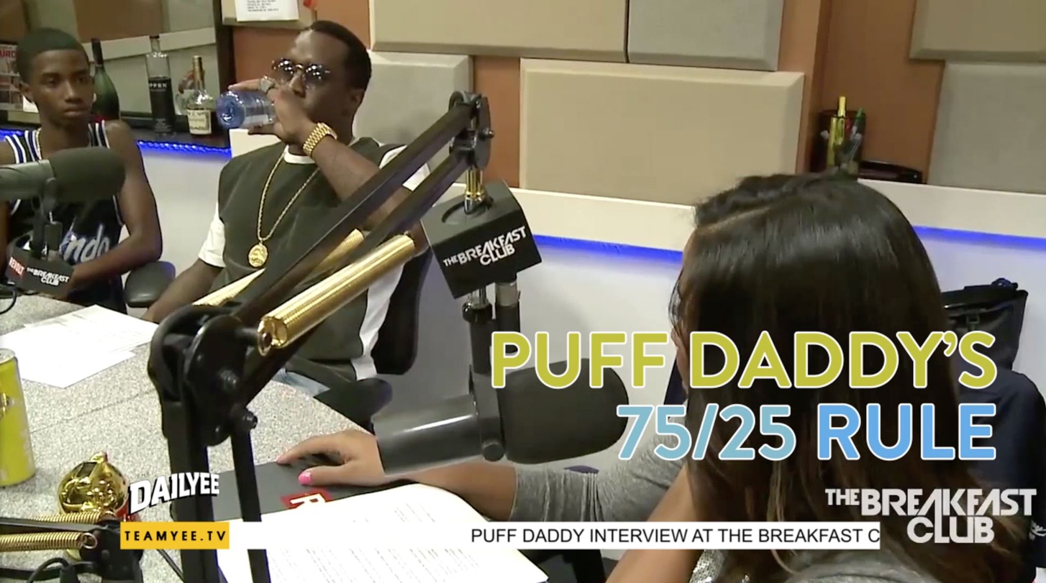 Puff Daddy's 75/25 Relationship Rule
