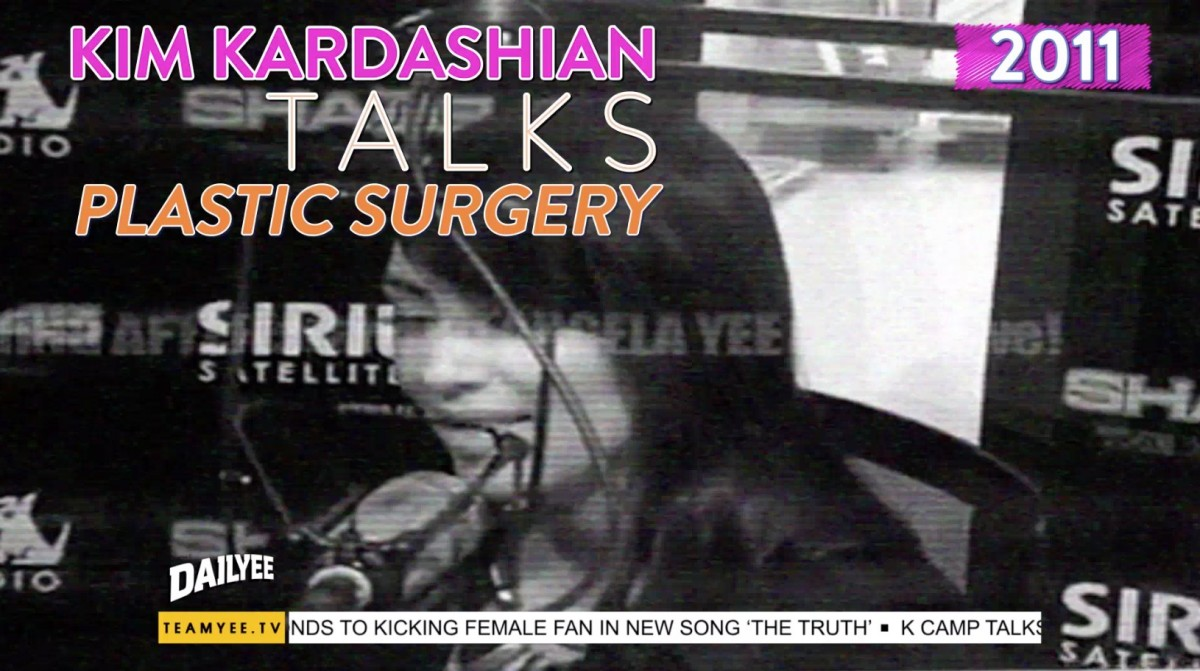 Kim Kardashian West Talks Plastic Surgery